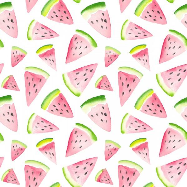 Aquarell Wassermelone 0,5 m