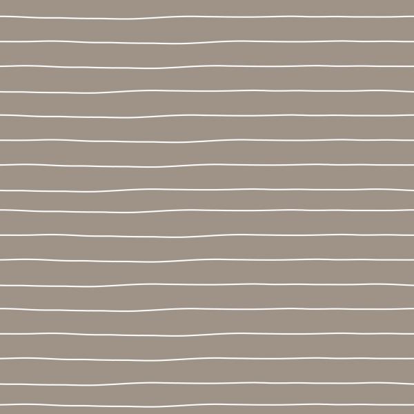 Kombistoff Stripes Small Taupe Jersey 0,5 m