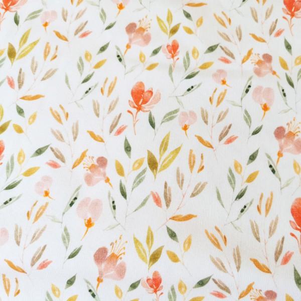 Sommerblumen Jersey 0,5 m