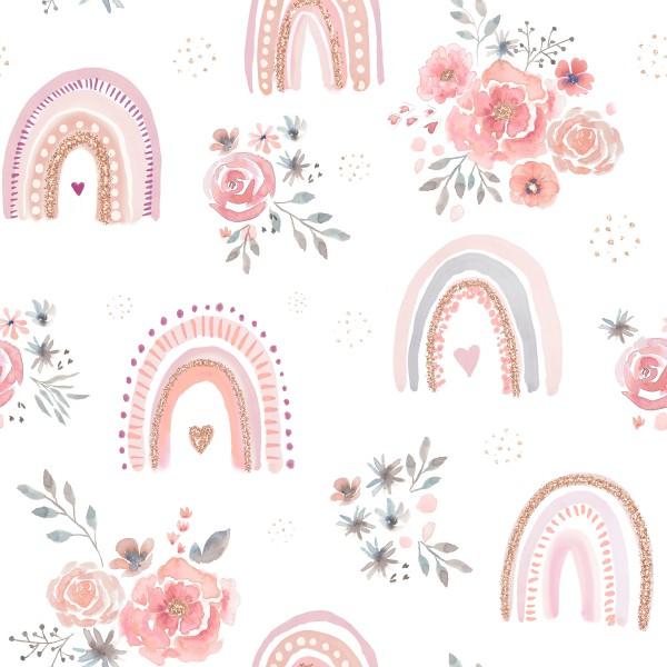 Rosy Regenbogen Jersey Vorbestellung 0,5 m