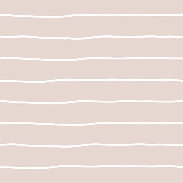 Kombistoff Stripes Bold Rosa Weiß Jersey 0,5 m