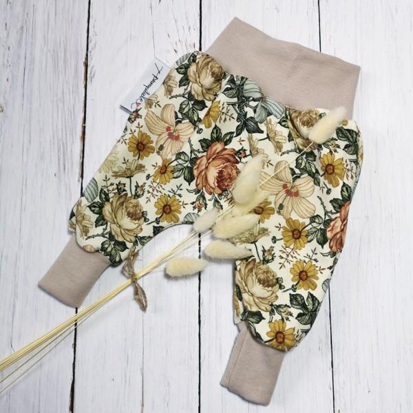 Pumphose Vintage Flower Sand Gr. 56