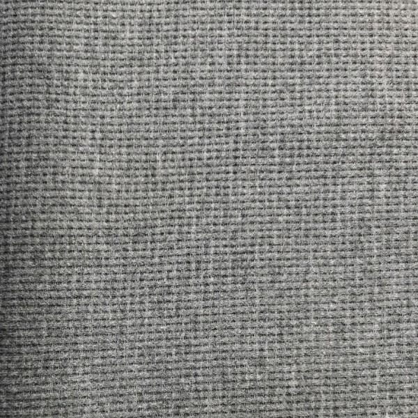 Waffel Jersey Dunkelgrau Meliert 0,5 m