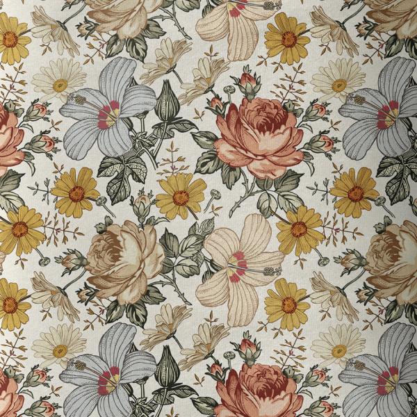 Vintage Flower Softshell Vorbestellung 0,5 m