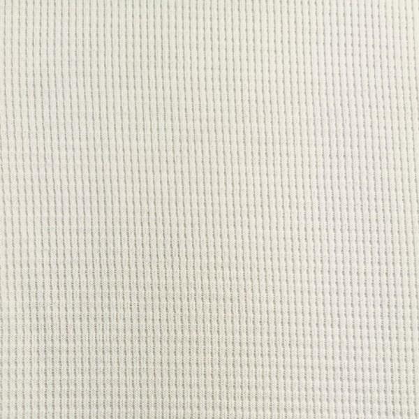 Waffel Jersey Ecru 0,5 m
