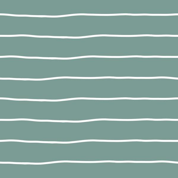 Kombistoff Stripes Bold Mint Jersey 0,5 m