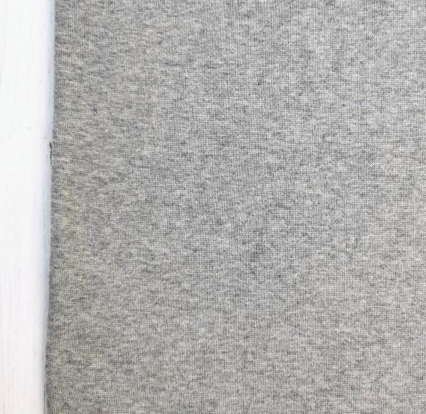 Bündchen Grau Melliert 0,5 m