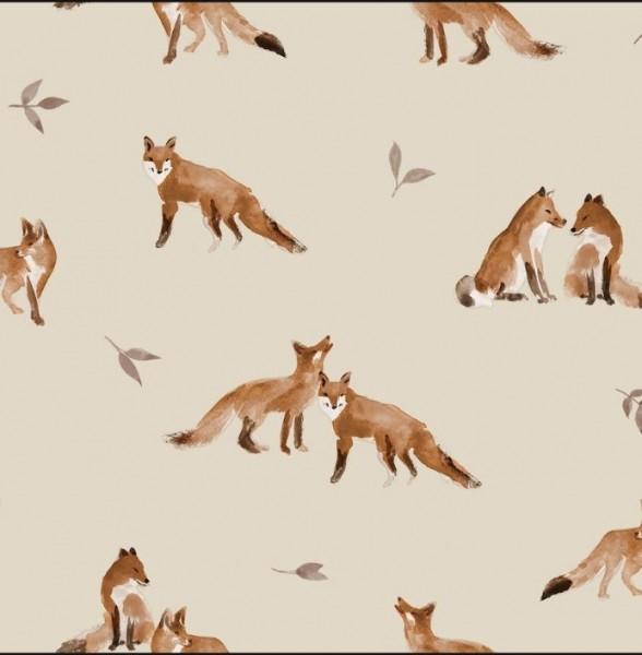 Fuchs Familie Jersey family fabrics 0,5 m