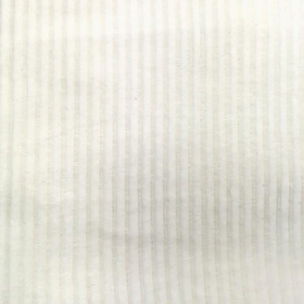 Nicki Cord Jersey Ecru 0,5 m