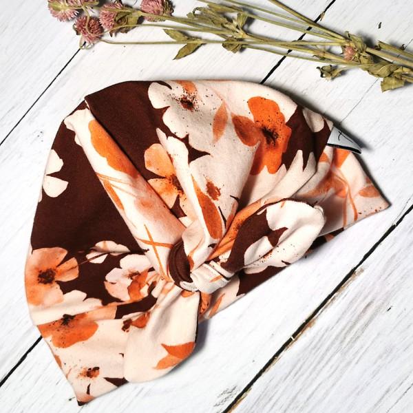 Turbanmütze Herbstblume