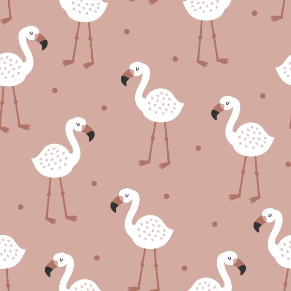 Flamingo Rose Jersey 0,5 m
