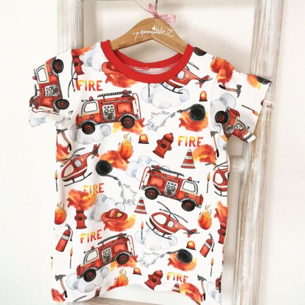 Q-Tie Shirt, gerader Schnitt für Jungs und Mädchen, Gr. 92