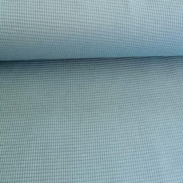 Waffel Jersey Seegrün 0,5 m