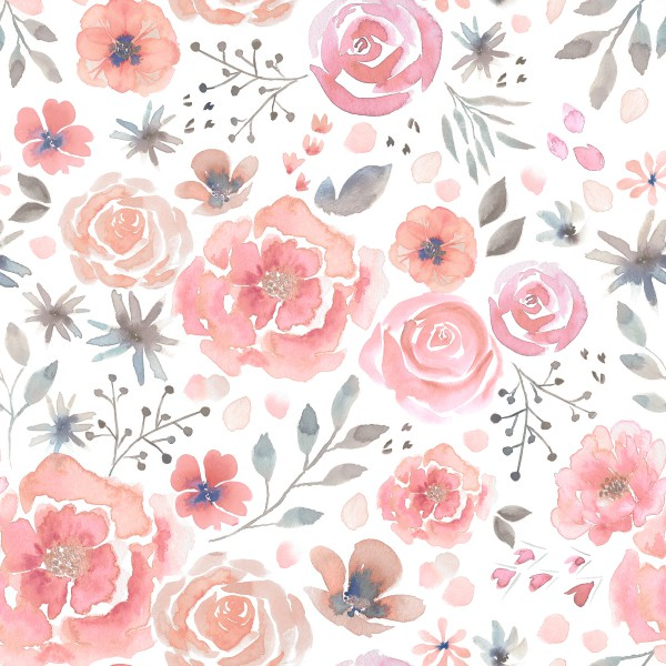 Rosy Roses Jersey 0,5 m