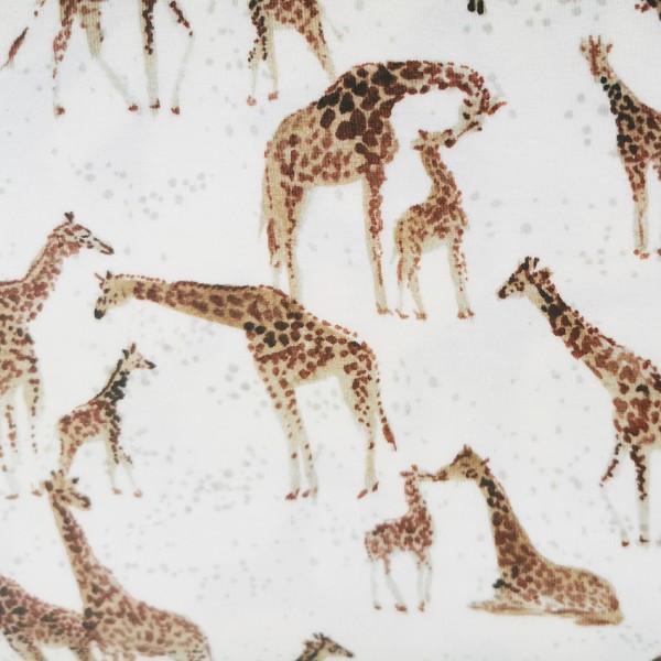 Giraffe Jersey family fabrics 0,5 m