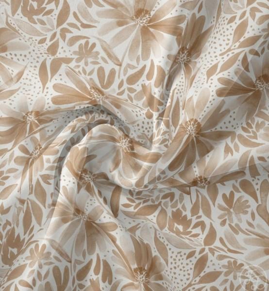 Kornblumen Beige Jersey family fabrics 0,5 m