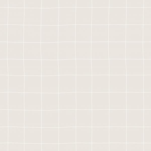 Kombi Gitter Cream Weiß Jersey 0,5 m