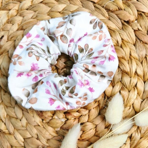 Scrunchie Vintage Leaves